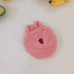 Fruits sleeveless (strawberry)