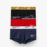 BOXER BRIEFS-LOW RISE COLOR A SET PACK [3SET]