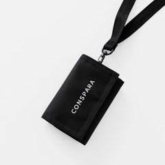 [컨스파라] 3단 지갑 + 와이어 스트랩 PLTW1018