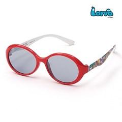 라바 키즈 선글라스 LV-5002 레드/화이트