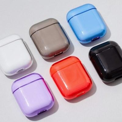 애플 에어팟 심플 하드 케이스