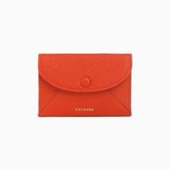 REIMS W019 Envelope Card Wallet Red Orange