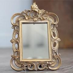 로망스 골드 탁상 거울