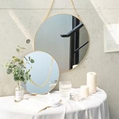 골드 메탈 벽걸이용 거울