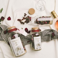 와인 담금주키트 리와인드 와인키트 잔 선물세트 장미