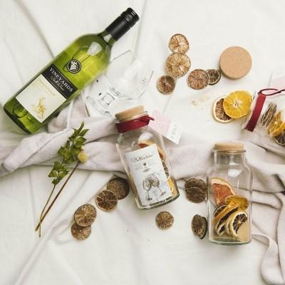 와인 담금주키트 리와인드 와인키트 잔 선물세트 시트러스