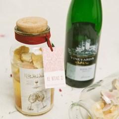 와인 담금주키트 리와인드 와인키트 1000ml 복숭아무화과