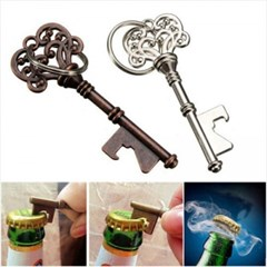 빈티지 하트 병따개 열쇠고리 1개(랜덤)