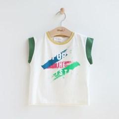[온라인 전용] 스포티 아동 민소매 티셔츠 IB2EV623U