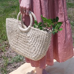 Moonlight straw bag