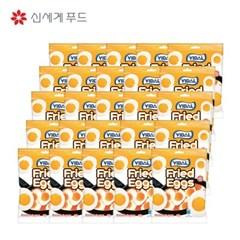 신세계푸드 비달 계란 모양 젤리 100g x 25봉 묶음