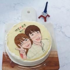 상큼하고 부드러운 커스텀 자몽 케이크 ♥