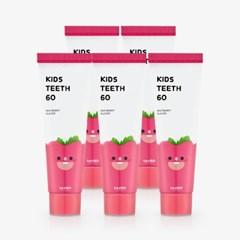 키즈티스60 4+1, 저불소 어린이 치약