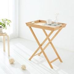 마켓비 BAMTA 트레이 테이블 6043H72 대나무 내추럴_(103299403)