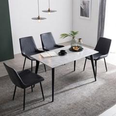 [잉글랜더]러셀 RB세라믹 4인용 식탁(의자 미포함)
