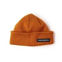[카고브로스]CARGOBROS - CB LOGO SHORT BEANIE (BROWN)_(1037939)