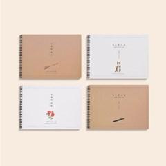 [YS]A4가로드로잉북_(302562363)