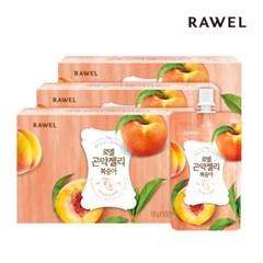 [로엘] 곤약젤리 복숭아맛 (130g x 10팩) 3박스