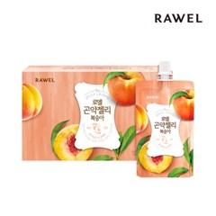 [로엘] 곤약젤리 복숭아맛 (130g x 10팩) 1박스