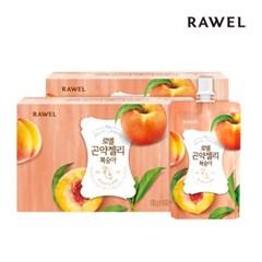 [로엘] 곤약젤리 복숭아맛 (130g x 10팩) 2박스