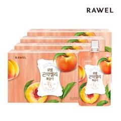 [로엘] 곤약젤리 복숭아맛 (130g x 10팩) 4박스
