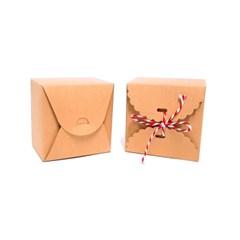 미니케이크 박스(9x9x6cm-10매)