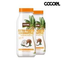 [코코엘] 엑스트라버진 코코넛오일(640ml) 2병
