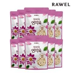 [로엘] 연자육(연꽃씨앗/연심제거/연심밥) 500g 10팩