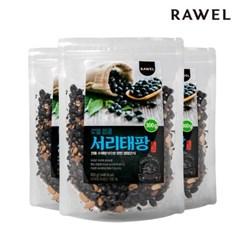 [로엘] 팝콩 서리태팡 영양간식 뻥튀기 300g 3봉