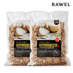 [로엘] 팝콩 이천현미쌀강정 350g 2봉