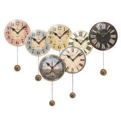 [Trademark] 빈티지 디자인 벽걸이 시계