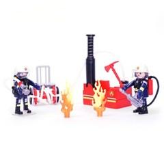 플레이모빌 소방대원과 물펌프(9468)