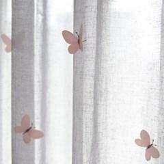 [3일배송] 나비자수 프리미엄 속커튼
