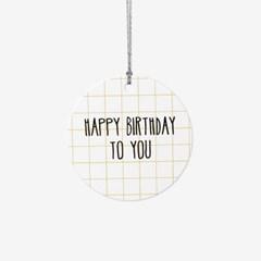 소소한 생일축하 택(10개)