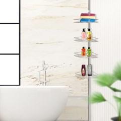 에스파스 욕실용 코너선반 4단_(1050029)