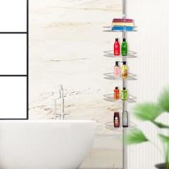 에스파스 욕실용 코너선반 5단_(1050028)