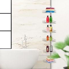 에스파스 욕실용 코너선반 6단_(1050027)