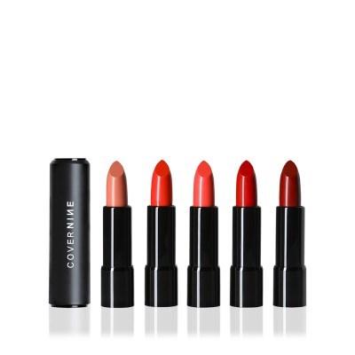 커버나인 컬러 인 마그네핏 글로시 립스틱 (5COLORS)