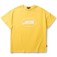 OVER FIT JEOB TEE YELLOW JBT00035-3