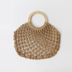 Rattan Ring Handle Bag