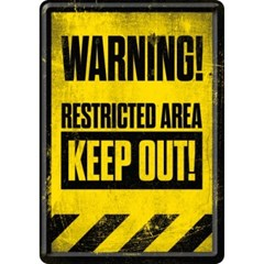 [10263] Restricted Area - Keep Out!