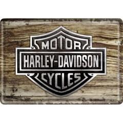 [10119] Harley-Davidson Wood Logo
