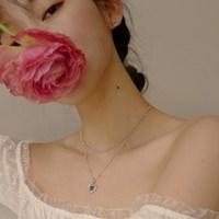 Alice Love Spin Necklace(White)