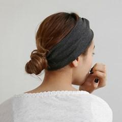 Plain hair turban