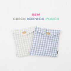 Check Ice Pack Pouch (2color)