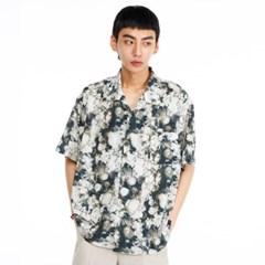 [더그레이티스트]GT19SUMMER 02 Flower Shirts GREEN
