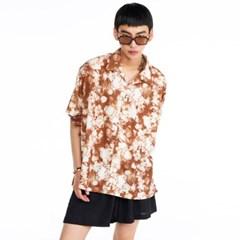 [더그레이티스트]GT19SUMMER 02 Flower Shirts BROWN