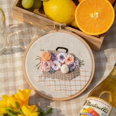 꽃 소풍 프랑스자수 클래스