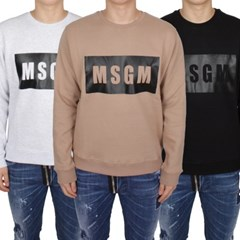 18FW MSGM 블랙박스 맨투맨 (4종/남성) 2540MM68