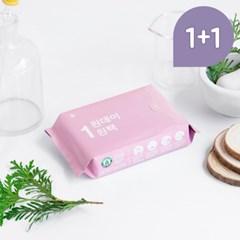 원데이원팩 유기농 생리대 대형 1+ 1 (총10P)_(1190060)